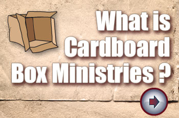 What is cardboard Box Ministries?